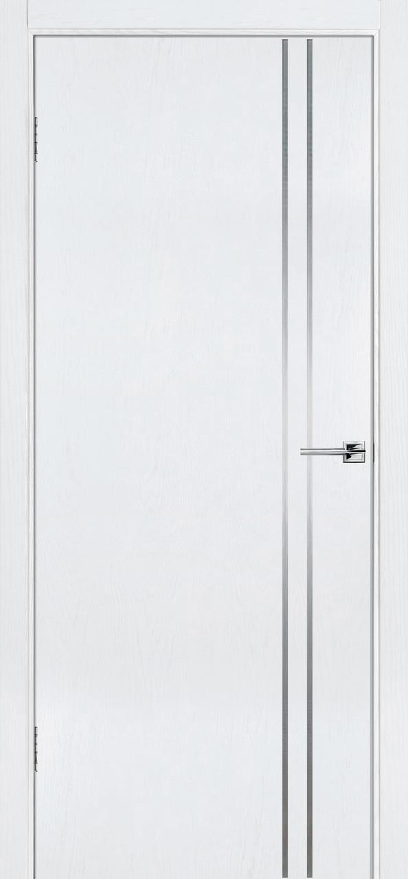 Межкомнатная дверь Флэш 4 белый ясень ПГ (противопожарная)