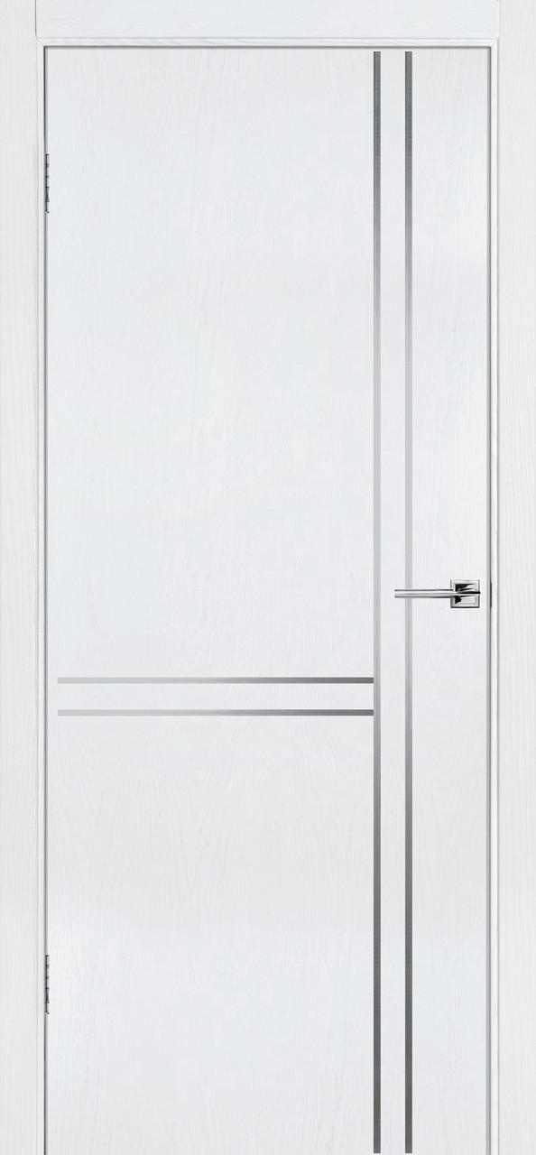 Межкомнатная дверь Флэш 7 белый ясень ПГ (противопожарная)