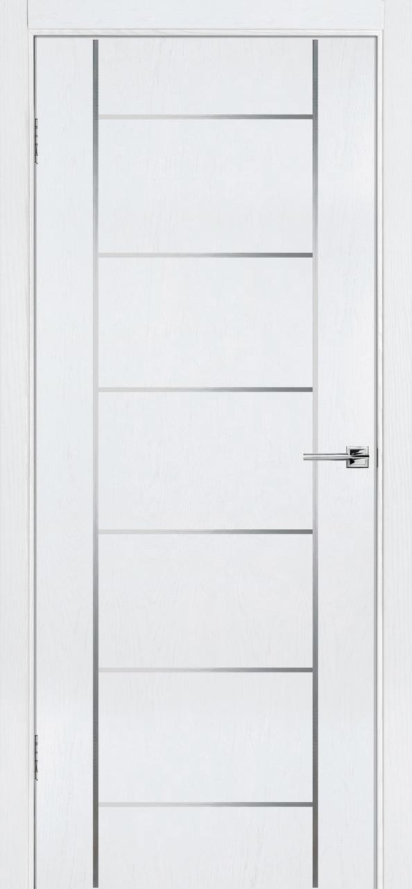 Межкомнатная дверь Флэш 8 белый ясень ПГ (противопожарная)