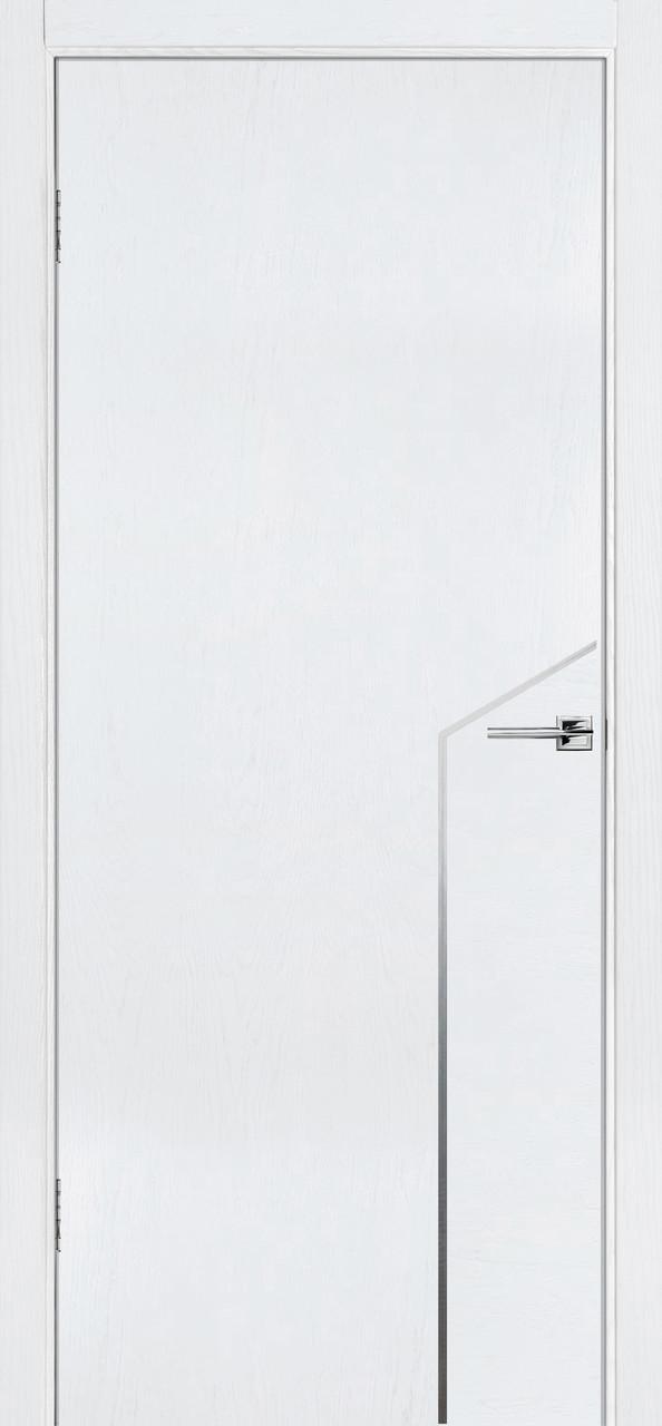 Межкомнатная дверь Флэш 10 белый ясень ПГ (противопожарная)
