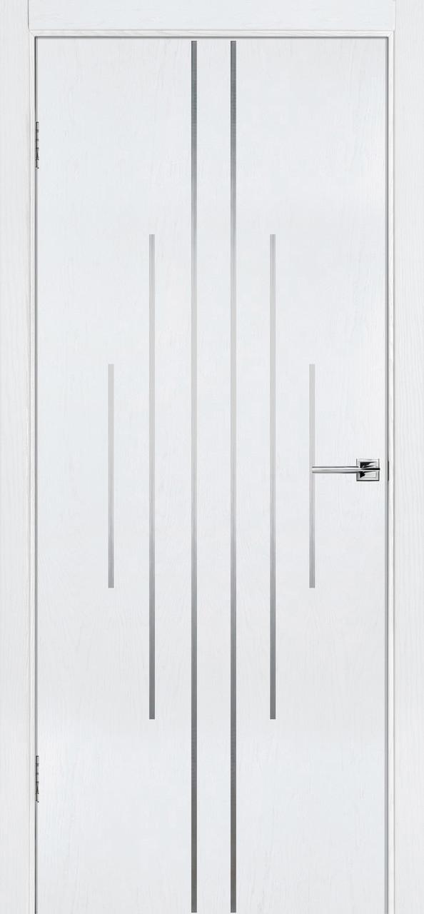 Межкомнатная дверь Флэш 11 белый ясень ПГ (противопожарная)