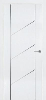 Межкомнатная дверь Флэш 12 белый ясень ПГ (противопожарная)