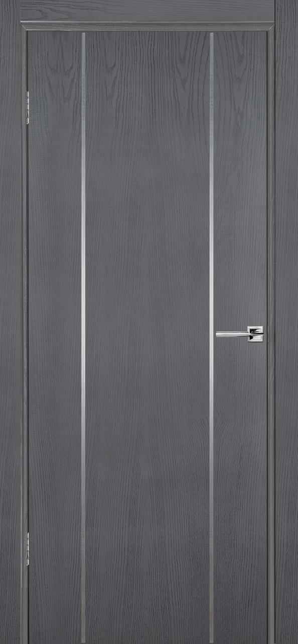 Межкомнатная дверь Флэш 3 серый ясень ПГ (противопожарная)