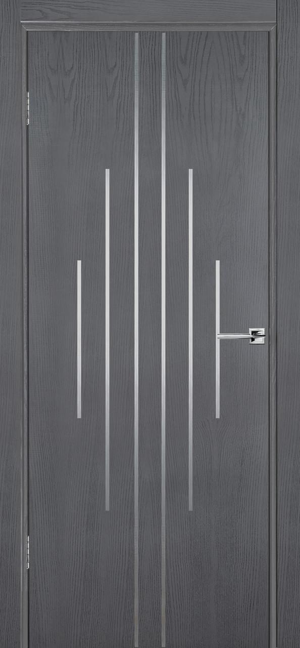 Межкомнатная дверь Флэш 11 серый ясень ПГ (противопожарная)