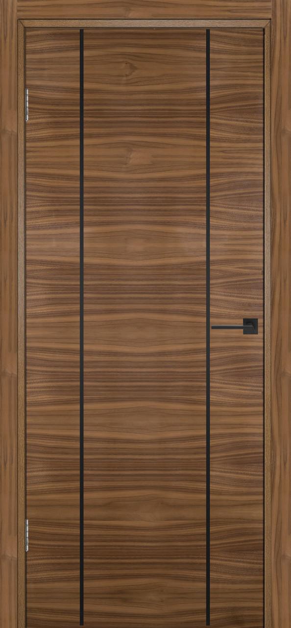 Межкомнатная дверь Флэш 3 орех американский ПГ (противопожарная)