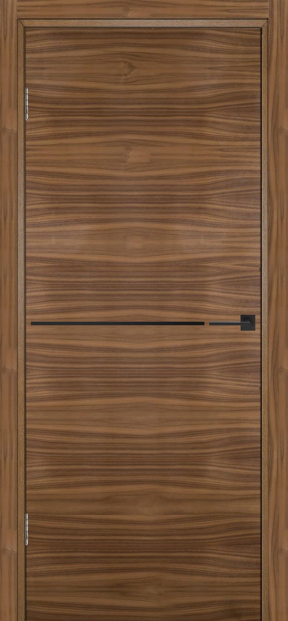 Межкомнатная дверь Флэш 6 орех американский ПГ (противопожарная)