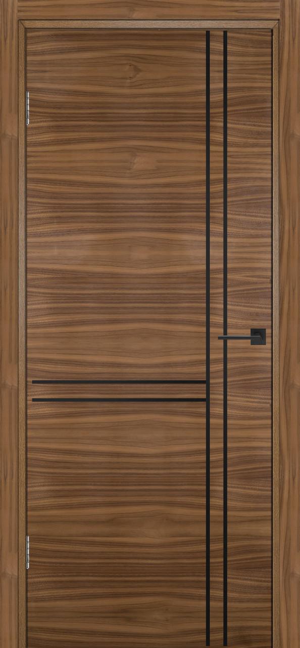 Межкомнатная дверь Флэш 7 орех американский ПГ (противопожарная)