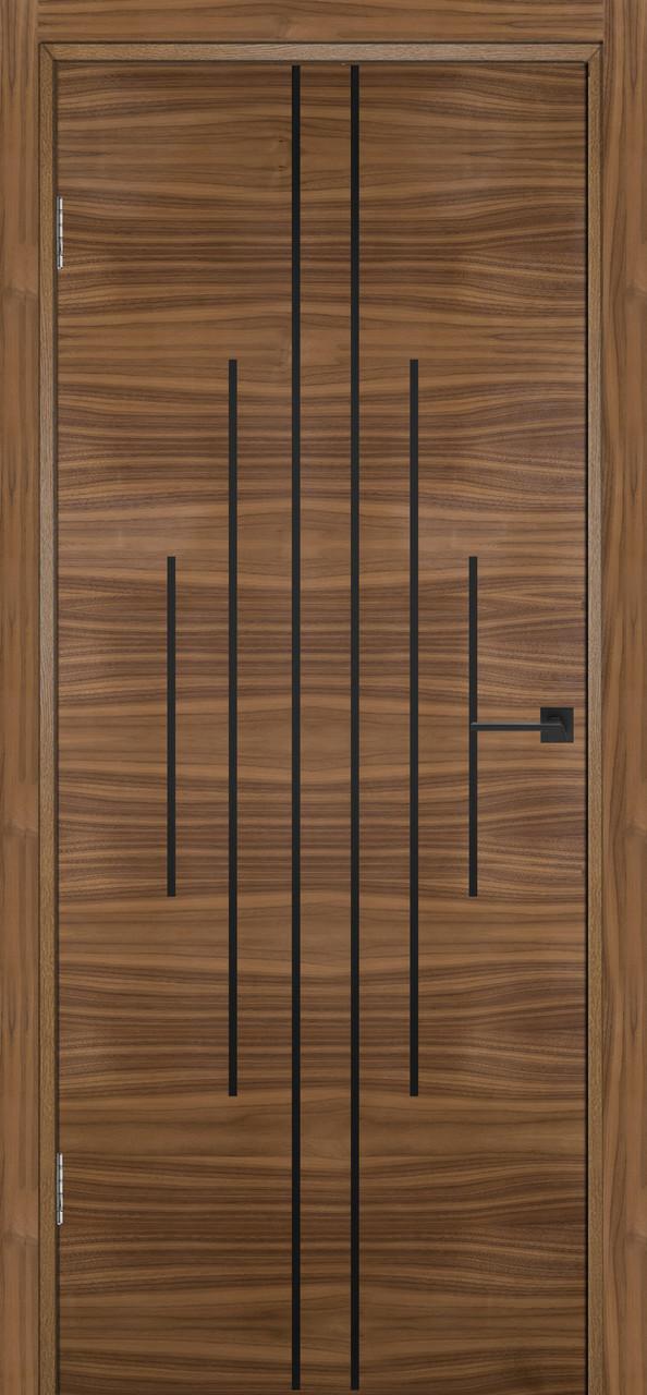 Межкомнатная дверь Флэш 11 орех американский ПГ (противопожарная)