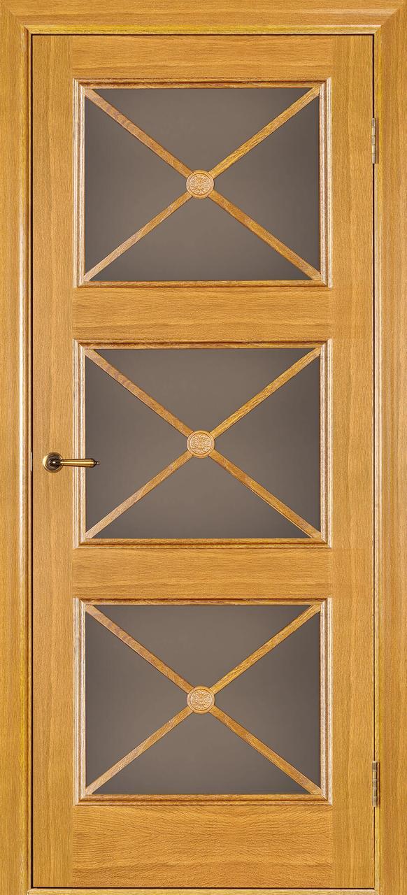 Міжкімнатні двері Адант світлий дуб З