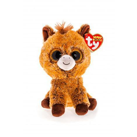 "Плюшевая детская мягкая игрушка Пони ""Harriet"" TY Beanie Boo's, 15 см"
