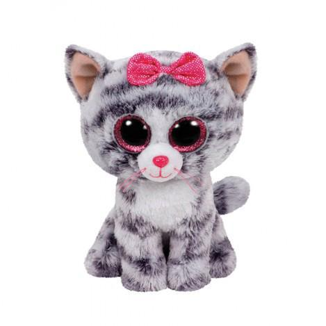 "Детская мягкая плюшевая игрушка Котенок ""Kiki"" TY Beanie Boo's, 50 см"