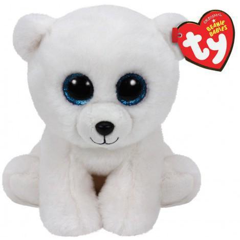 """Плюшевая мягкая детская игрушка Медвежонок """"Arctic"""" TY Beanie Babies, 15 см"""