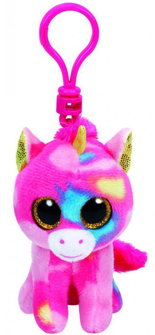 "Мягкая детская игрушка-брелок Единорог ""Fantasia"" TY Beanie Boo's, 12 см"