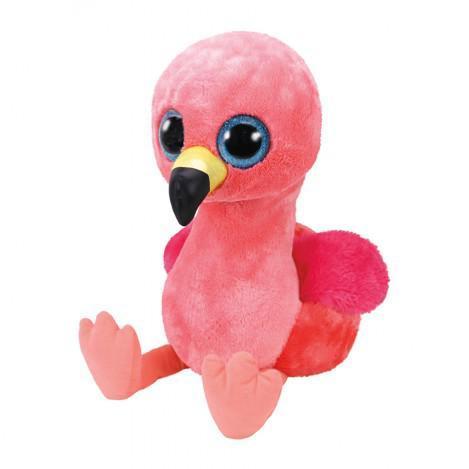 "Игрушка детская плюшевая мягкая Фламинго ""Gilda"" TY Beanie Boo's, 50 см"