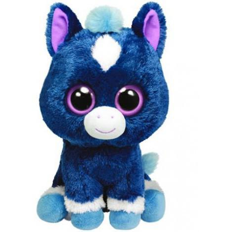 """Плюшевая мягкая детская игрушка Конь """"Dakota"""" TY Beanie Boo's, 25 см"""