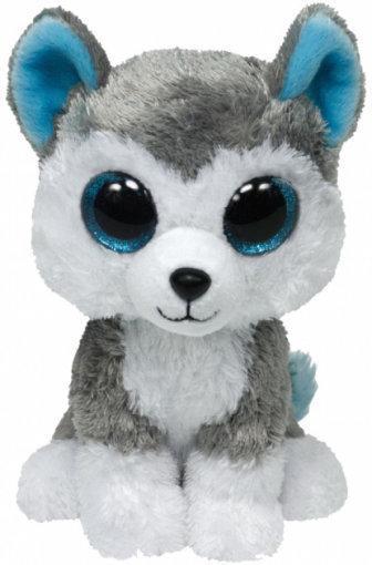 """Детская мягкая игрушка плюшевая Хаски """"Slush"""" TY Beanie Boo's, 50 см"""