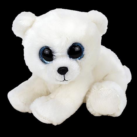 "Мягкая детская игрушка Белый медведь ""Polar"" TY Beanie Babies, 15 см"