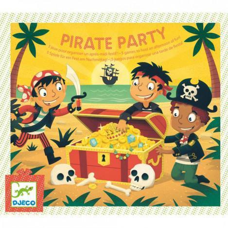 """DJECO Игровой набор для праздника """"Пиратская вечеринка"""""""