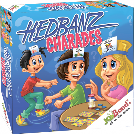 """Настольная игра для детей """"Что я делаю?"""" JoyBand"""