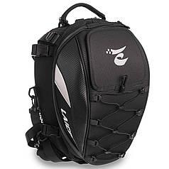 Мотосумка (1 кофр) на багажник LAICOBEAR HZ50 (PL, р-р 40х30х29см, черный)
