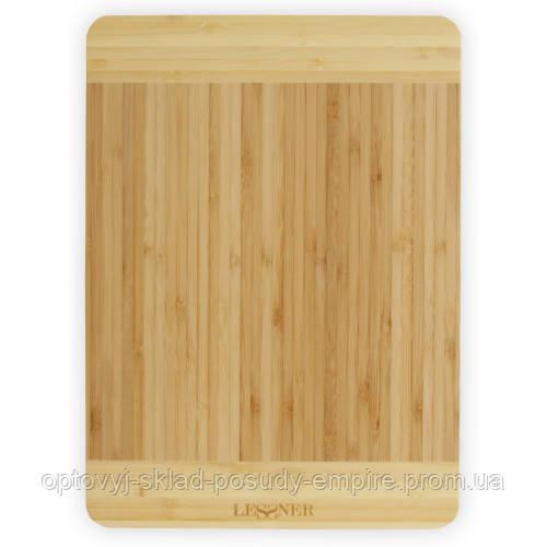Дошка кухонна прямокутна бамбукова Lessner 30х20х1,8см 10300-30