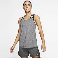 Майка спортивная женская Nike Pro серая