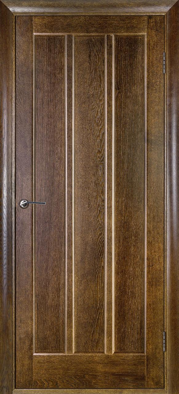 Межкомнатная дверь Троя дуб рустикаль ПГ