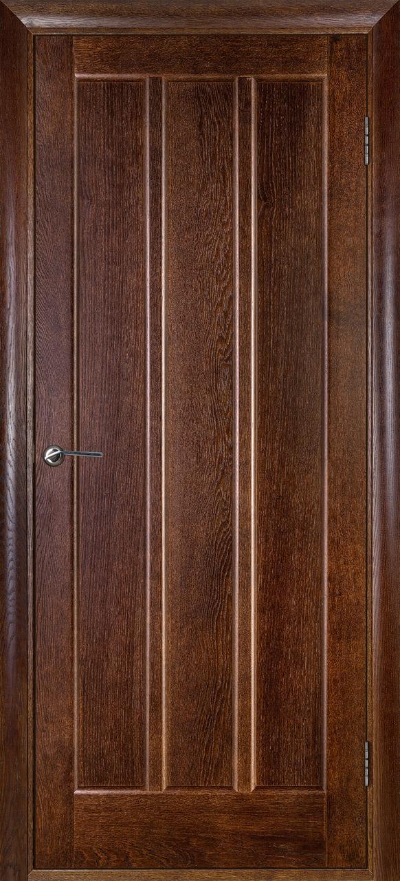Межкомнатная дверь Троя каштан ПГ