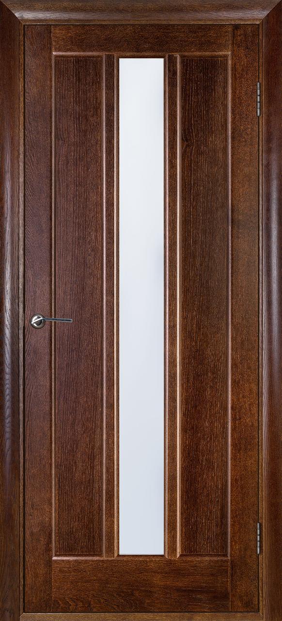 Межкомнатная дверь Троя каштан ПО