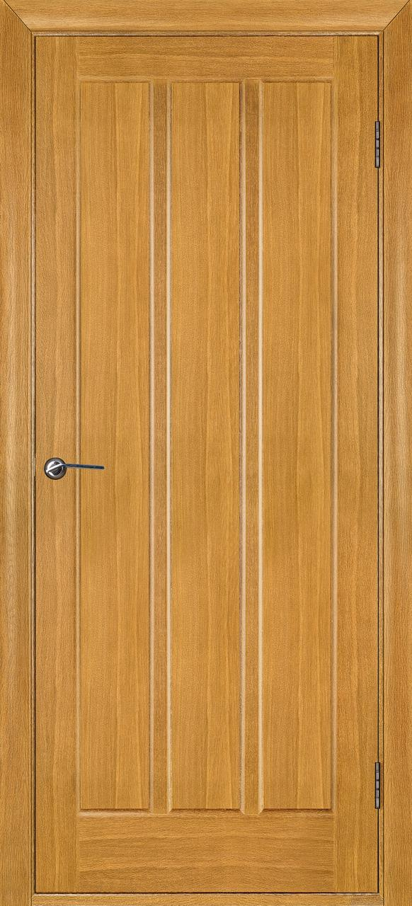 Межкомнатная дверь Троя дуб светлый ПГ