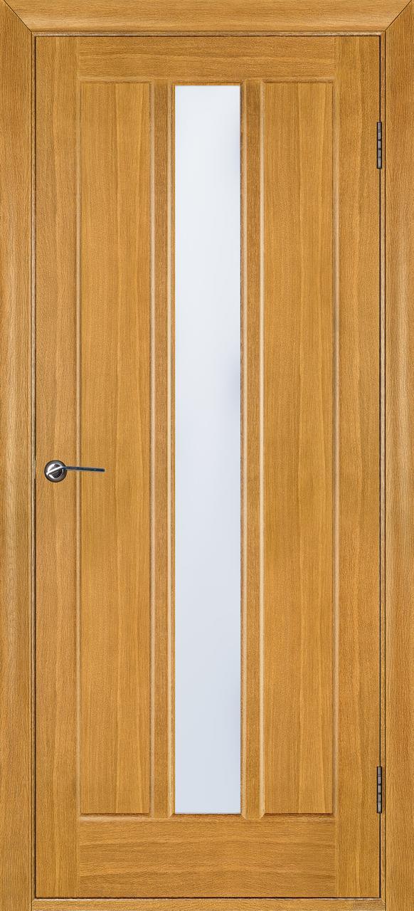 Межкомнатная дверь Троя дуб светлый ПО