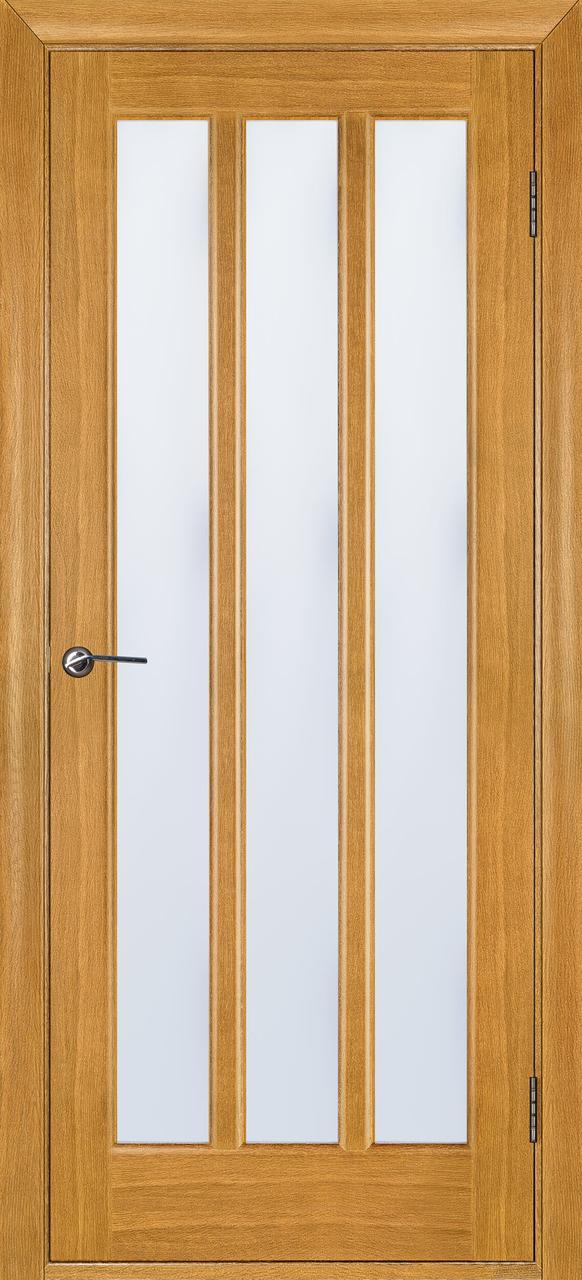 Межкомнатная дверь Троя дуб светлый ПОО