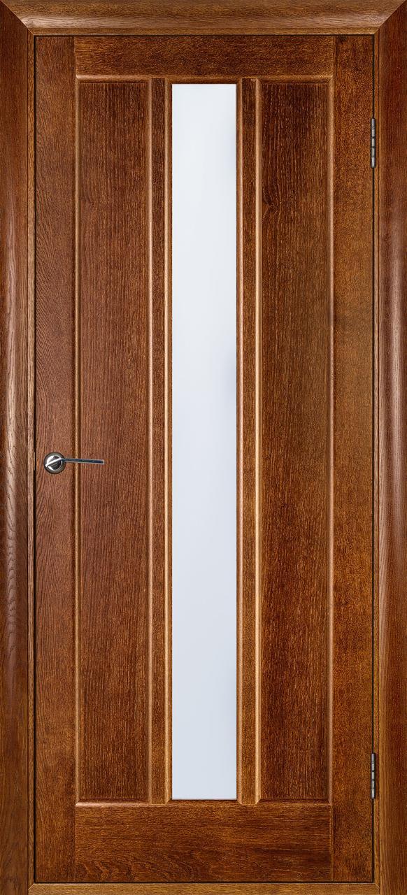 Межкомнатная дверь Троя орех ПО