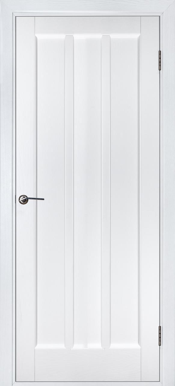 Межкомнатная дверь Троя белый ясень ПГ