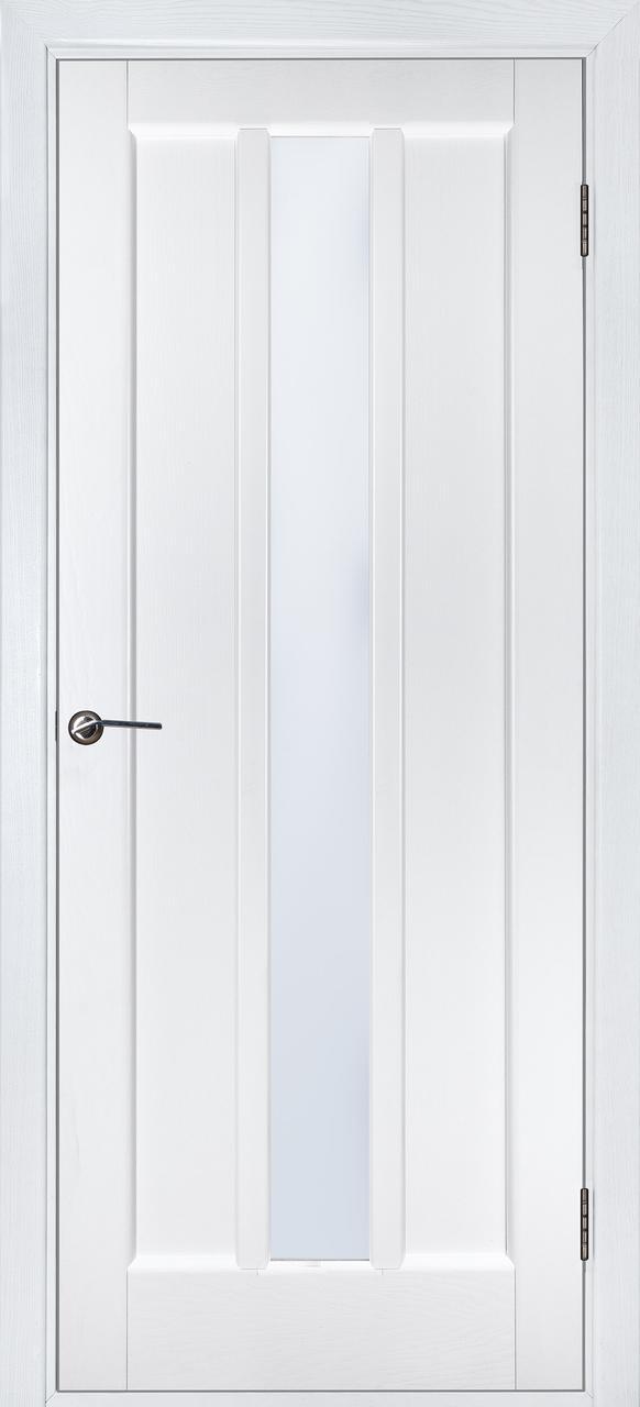 Межкомнатная дверь Троя белый ясень ПО
