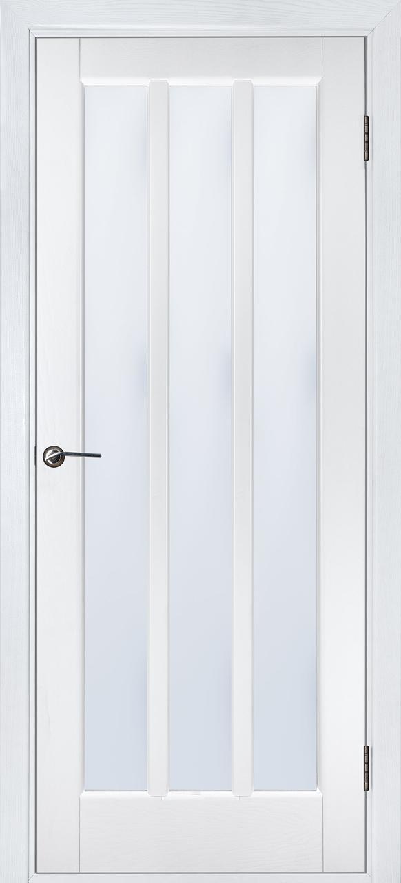Межкомнатная дверь Троя белый ясень ПОО