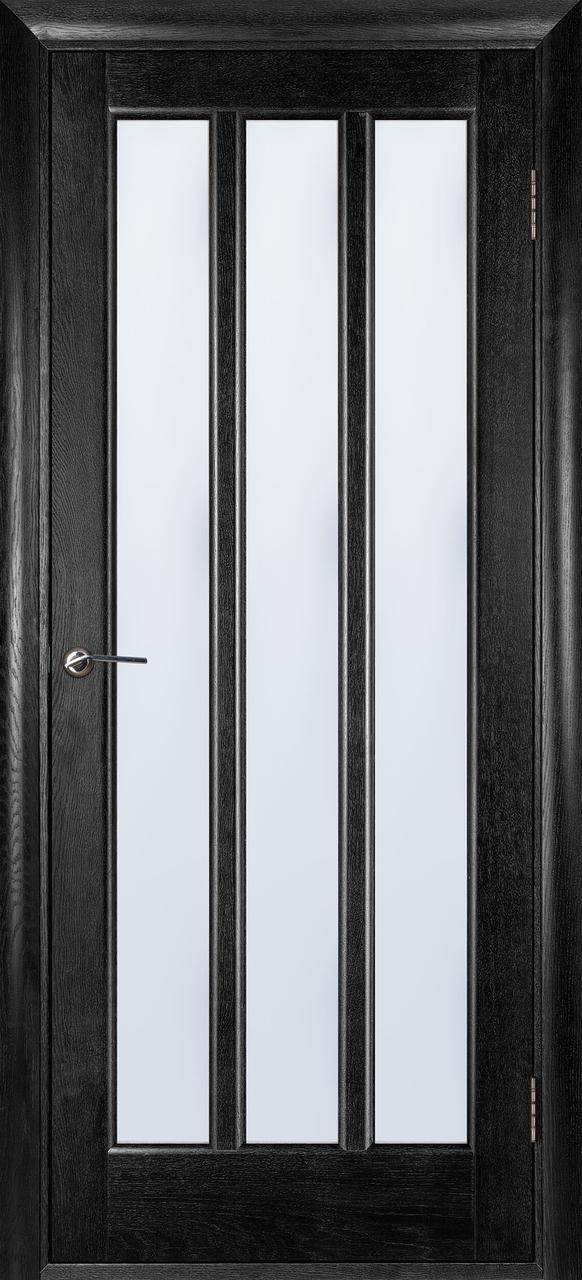 Межкомнатная дверь Троя черный ясень ПОО