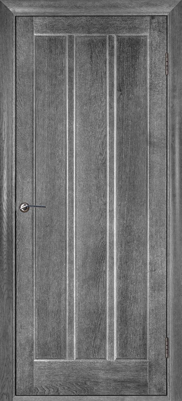 Межкомнатная дверь Троя серый ясень ПГ