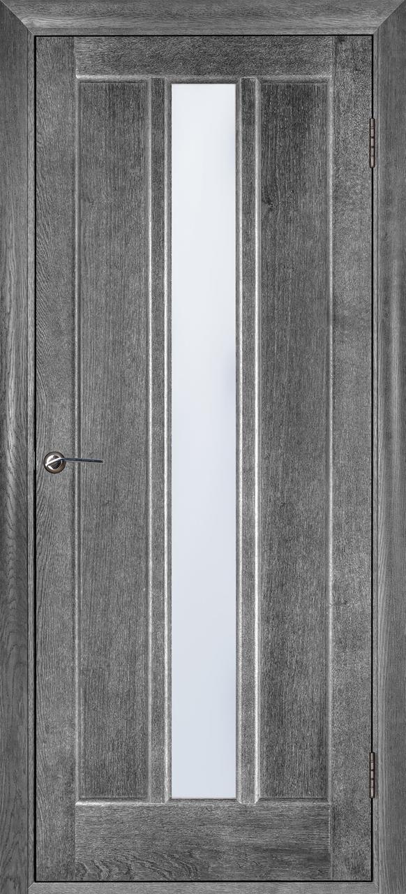 Межкомнатная дверь Троя серый ясень ПО