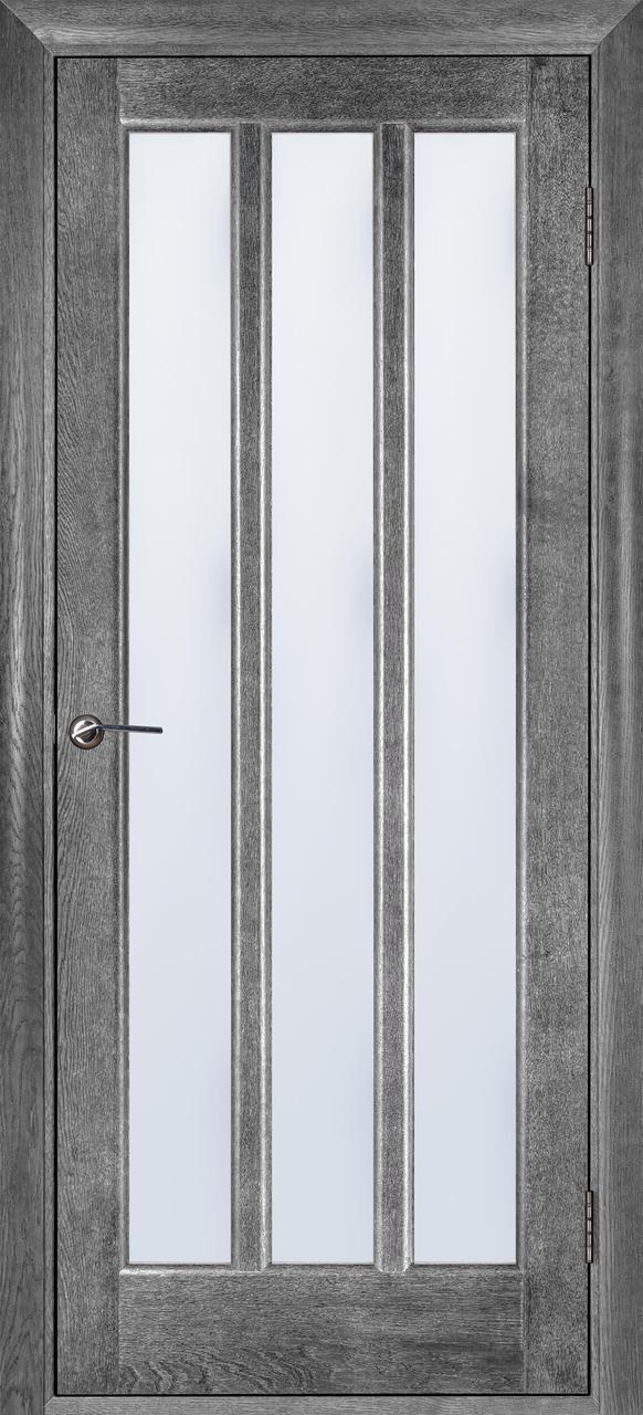 Межкомнатная дверь Троя серый ясень ПОО