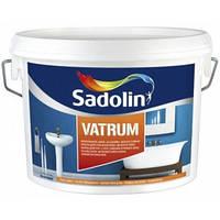 Влагостойкая краска для стен VATRUM Sadolin ( Ватрум Садолин ) 5л