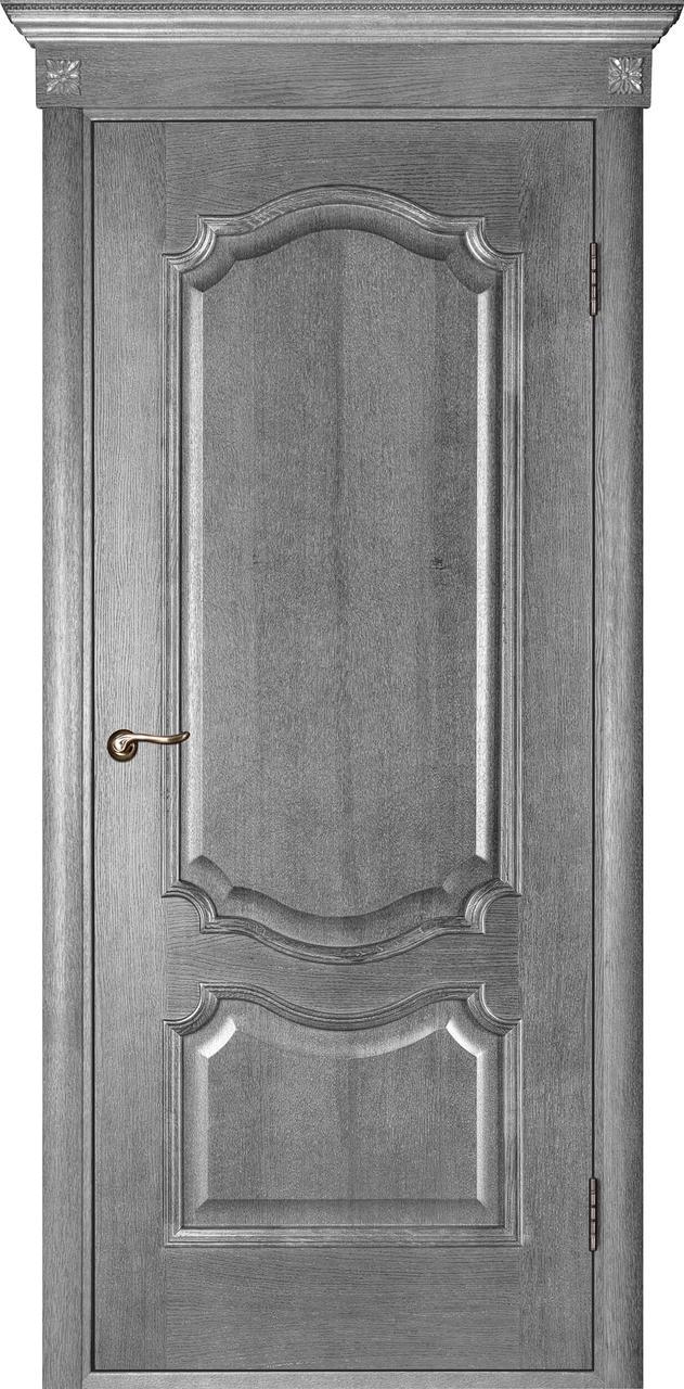 Межкомнатная дверь Престиж серый ясень ПГ