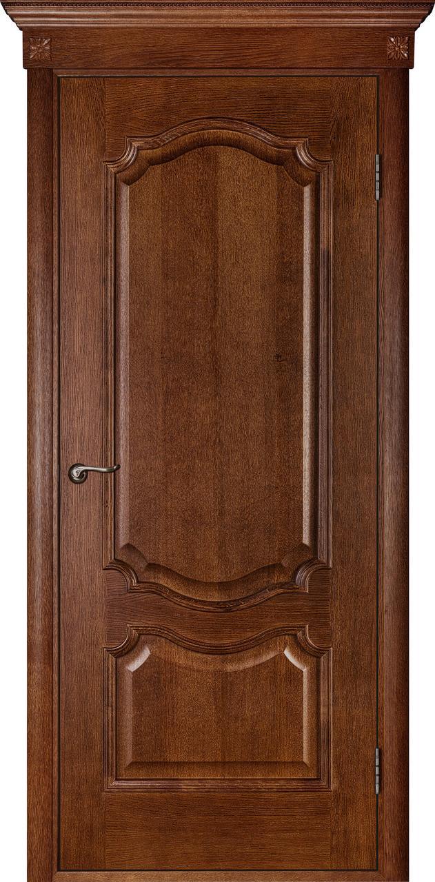 Межкомнатная дверь Престиж темный орех ПГ
