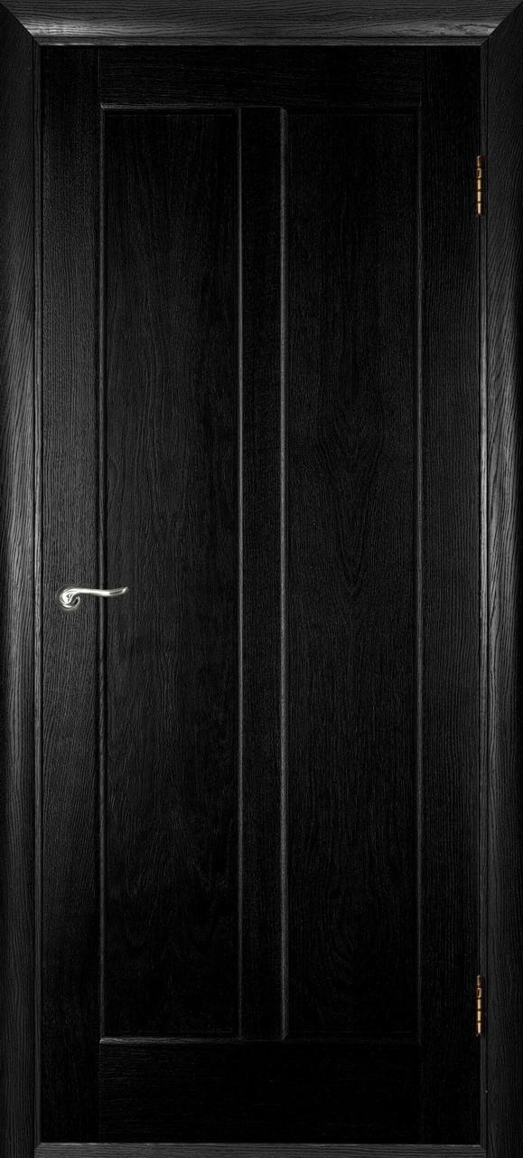 Межкомнатная дверь Дива черный ясень ПГ