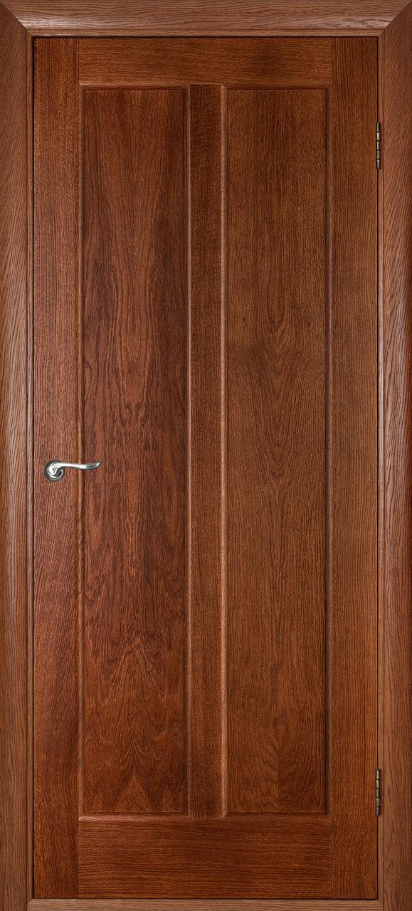 Межкомнатная дверь Дива каштан ПГ