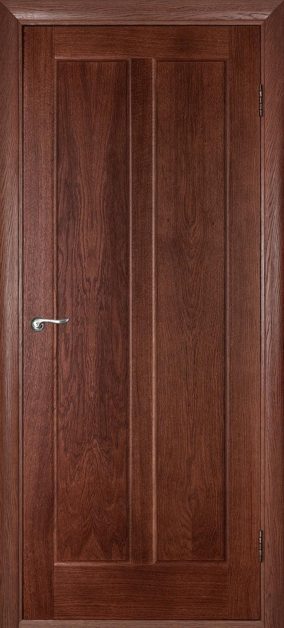 Межкомнатная дверь Дива темный орех ПГ