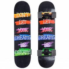 Скейтборд в зборі (роликова дошка) SK-1246-2