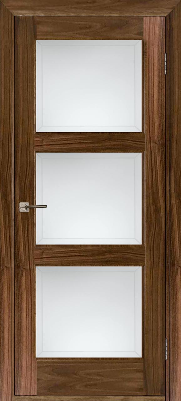 Межкомнатная дверь Лестница американский орех ПО