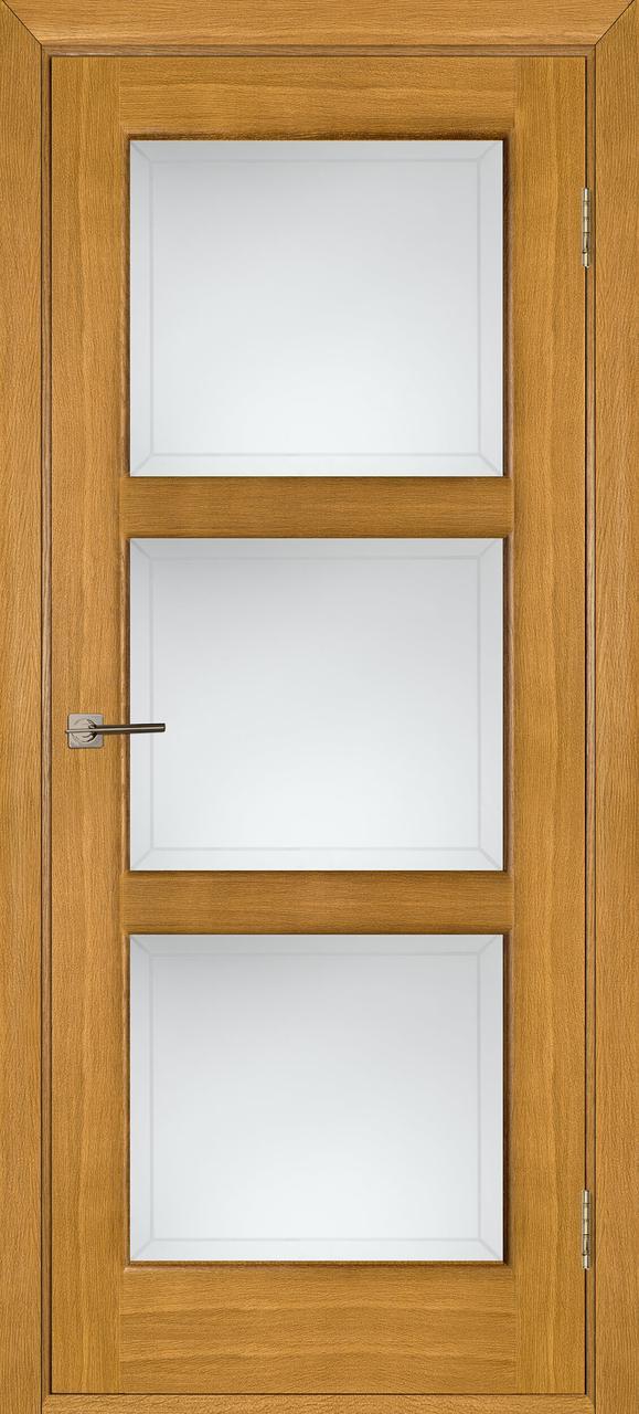 Межкомнатная дверь Лестница дуб светлый ПО