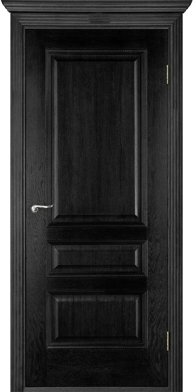 Межкомнатная дверь Вена черный ясень ПГ